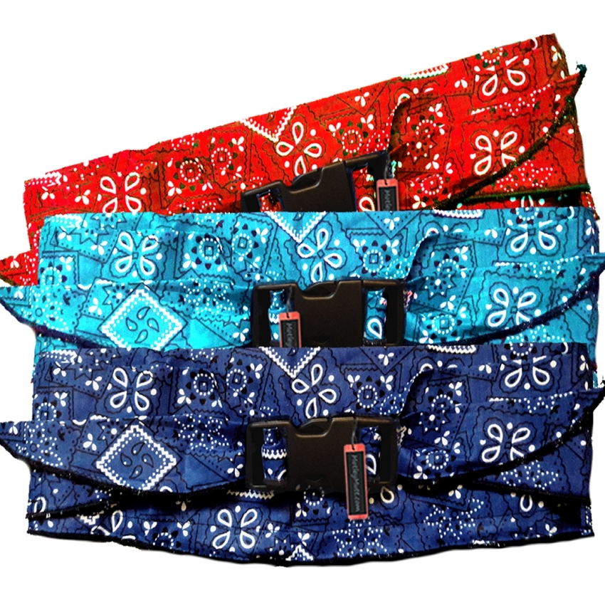 Large and Giant Breed Dog Cooling Collars Bandanas