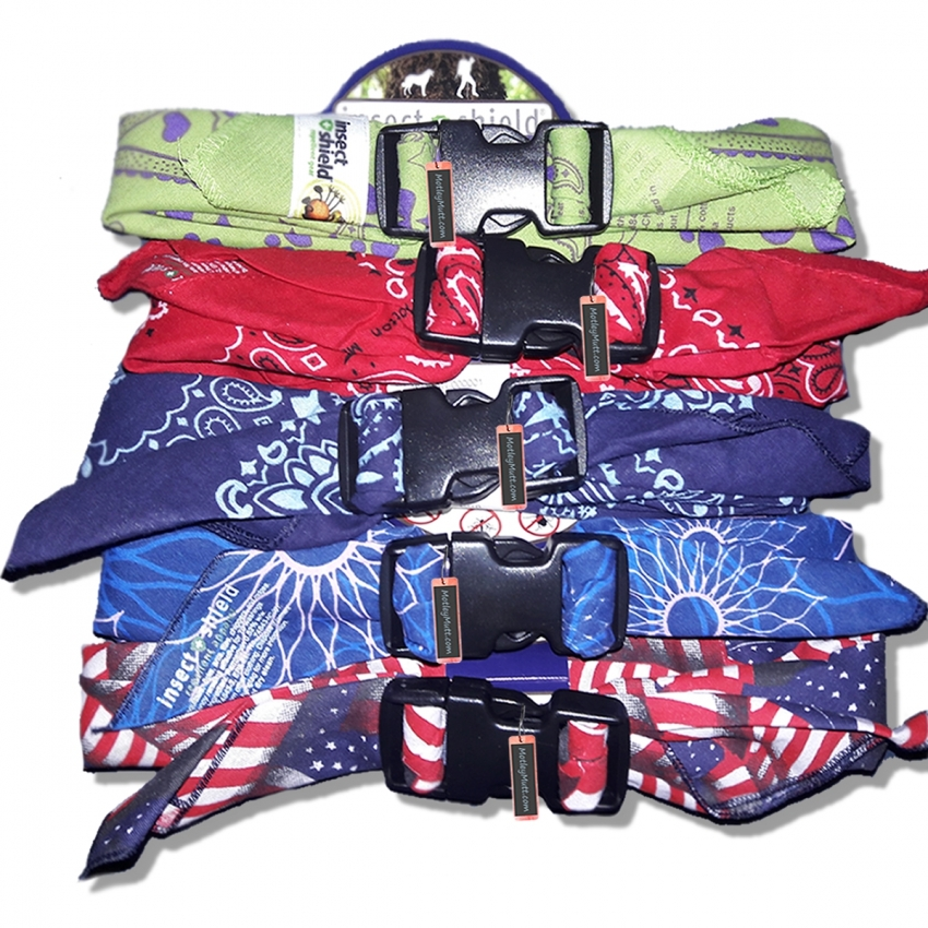 Insect Shield for Dogs Bandana