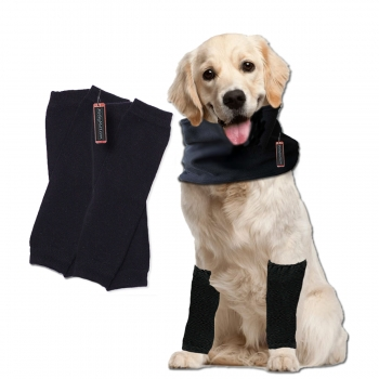Fleece Leg Warmers for Large Dogs