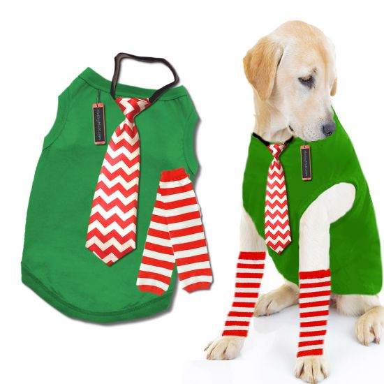Christmas Outfit For Large Dog Whippets, Vizslas, Boxers, Pit-bulls, Pointers, Labradors, Poodles