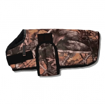 Camo insulated waterproof winter large dog coats for large breed dogs